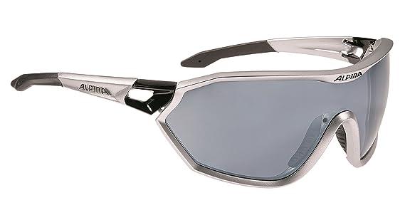 Alpina S-Way cm Outdoorsport-Brille, Black Matt, One Size