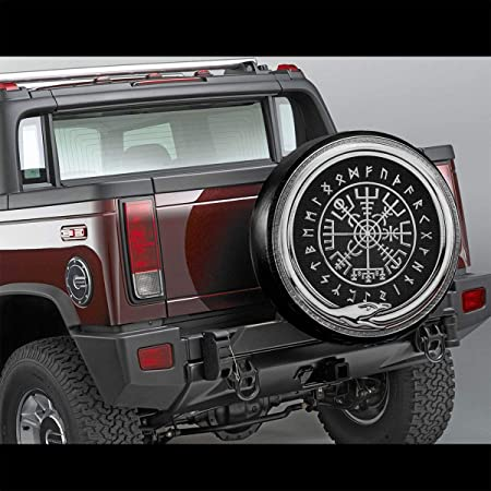 Au-to-B-Ots Spare Tire Cover Universal Waterproof Dust-Proof Wheel Covers