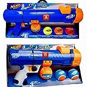 Amazon.com : Nerf Dog 20inch Tennis Ball Blaster Gift Set