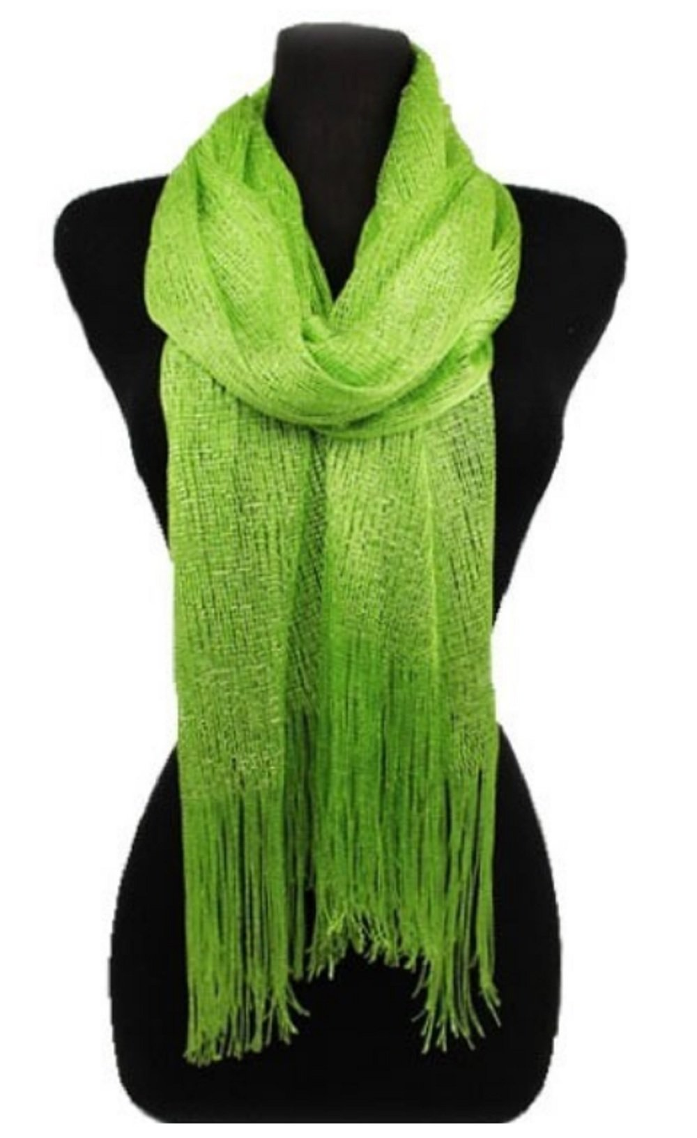 Love My Seamless Sheer Bridal scarfs For Prom, Weddings, Party Evening Dresses - Shawls and Wraps For Women (One Size, Lime)
