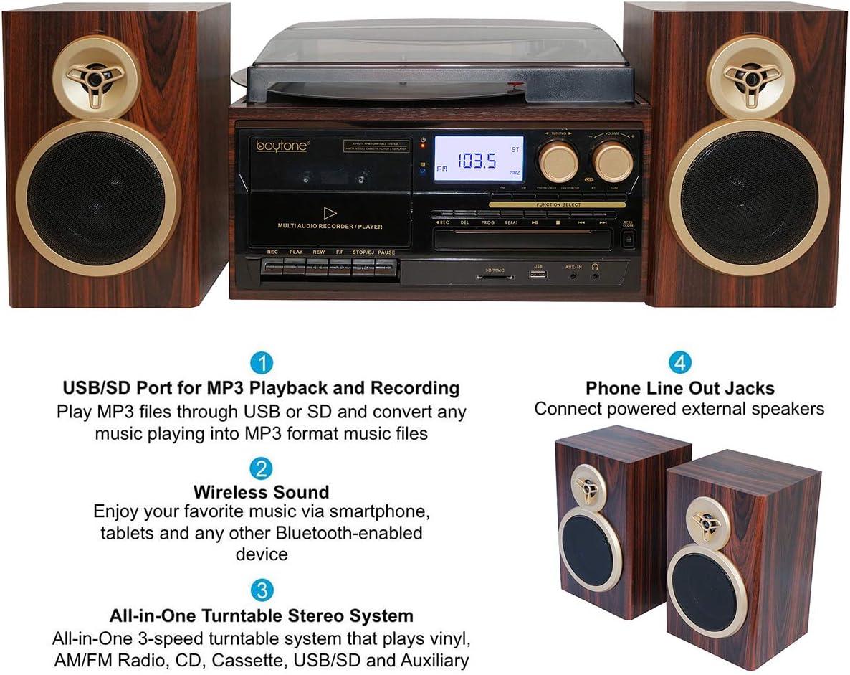 Amazon.com: BT-28SPM Boytone, reproductor de música de ...