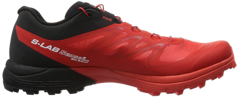 Salomon L37945600, Zapatillas de Senderismo Unisex Adulto, Rojo (Racing Red/White/Racing Red), 37 1/3 EU