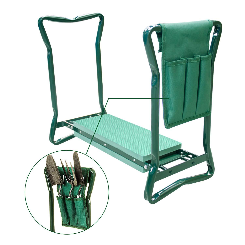 Amazon.com: Fancy Buying - Rodillera de jardín y asiento con ...