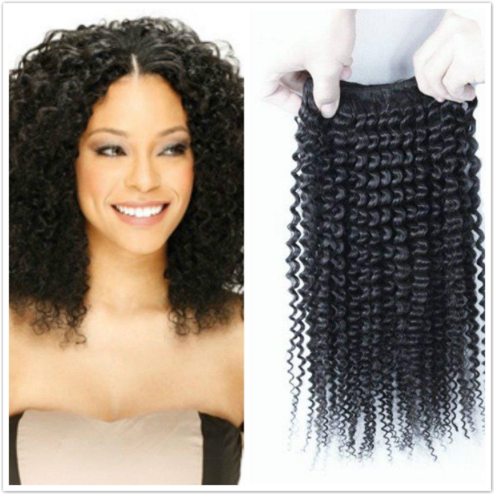 Amazon Peruvian Jerry Curl Virgin Hair Weave Extensions 3
