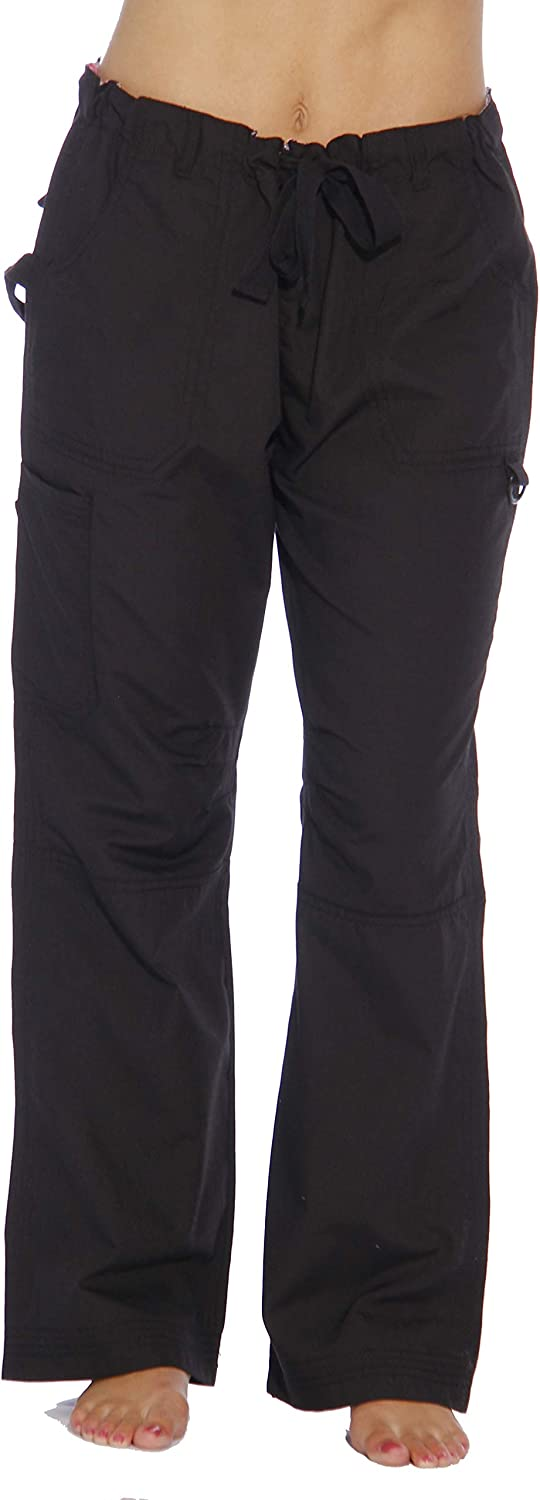 Just Love Womens Utility Solid Scrub Pants
