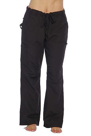 403497deaeb 24000PBLK-XS Just Love Women's Utility Scrub Pants / Scrubs, Black Utility,  X