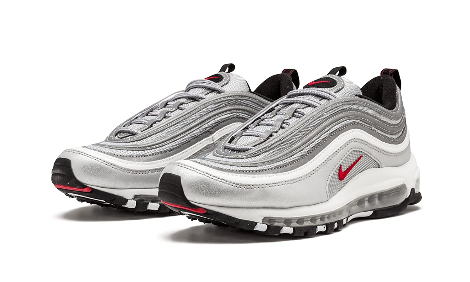 Nike Air Max 97 OG QS Silver Bullet - 884421 001  Amazon.co.uk  Shoes   Bags ae23bcbd0