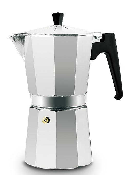 Supreminox Cafetera de Aluminio 9 Tazas: Amazon.es: Hogar