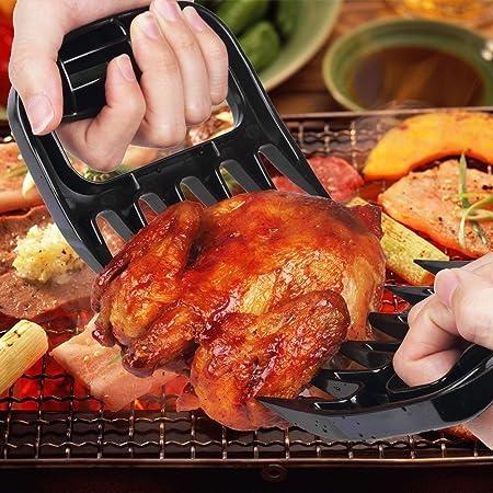 HeroNeo/® BBQ Meat Claws Shredding Lift Tongs Pull Handler handling Fork Toss New Pork