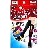 スリムウォーク 美脚ソックス M-Lサイズ ブラック(SLIM WALK,socks,ML)