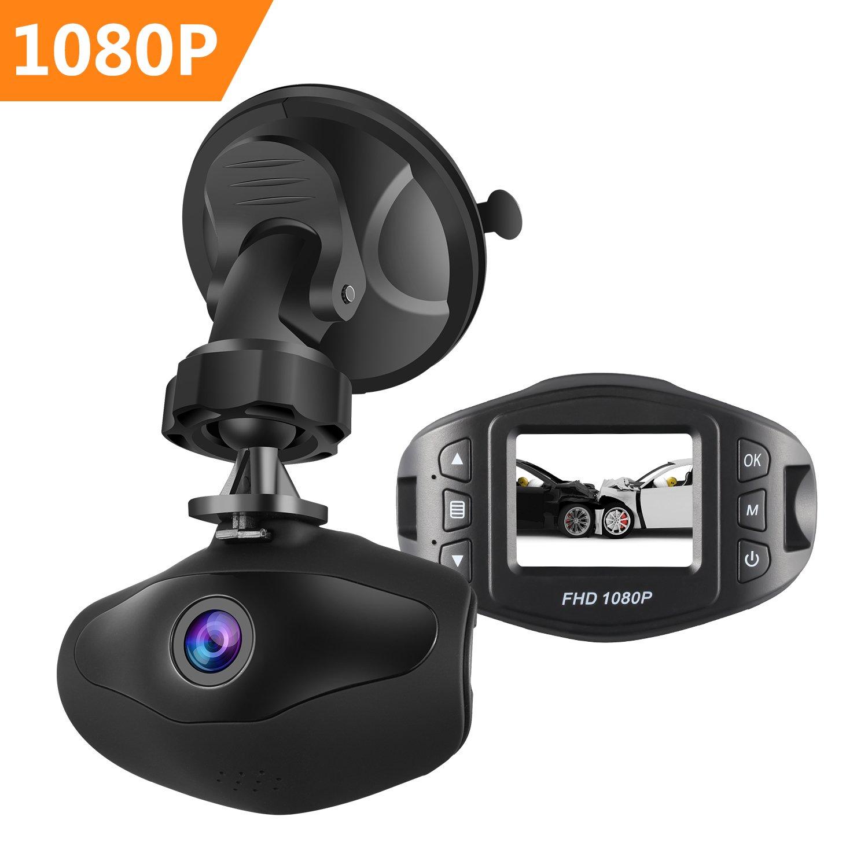 Mini Dash Camera, Sendowtek FHD 1080P 6G Lens 170° View Angle Car DVR Recorder 1.5 Inch LCD Screen Vehicle Dash Cam with G-Sensor Loop Recording Motion Detection …