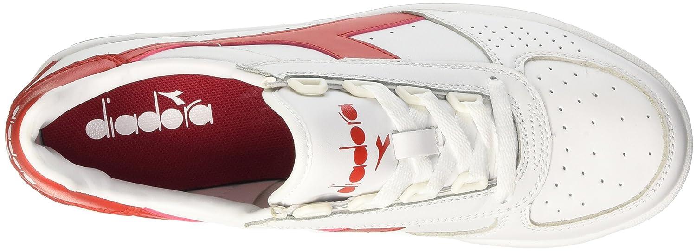 Diadora B. Elite, Sneaker a Collo Basso Unisex Unisex Unisex - AdultoBianco (Bianco/Rosso Ferrari Italia) 5a5e06