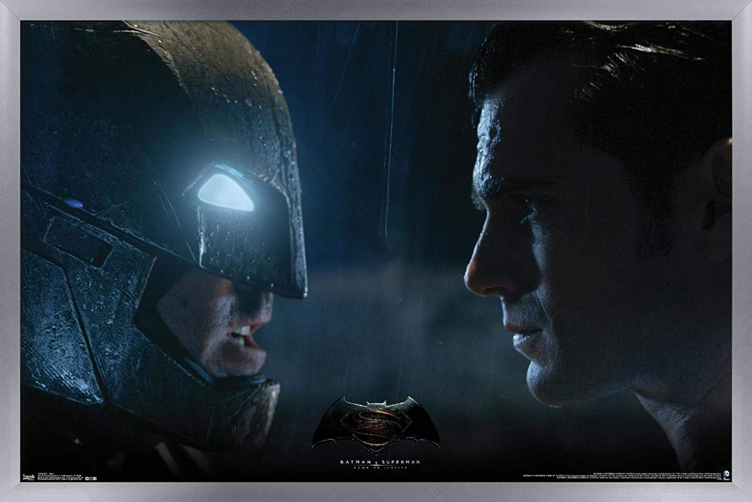 Amazon.com: Trends International Batman v Superman-Stare ...