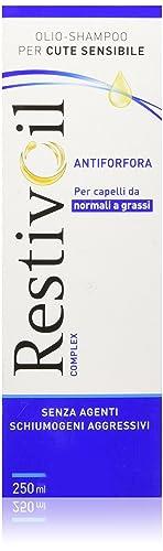 3. Restivoil – Eccellente olio antiforfora
