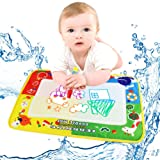 "Iusun 4 Color Water Drawing Painting Writing Mat Board + Magic Pen Doodle Kids Educational Toys Child Gift 18X11.8"" (A)"