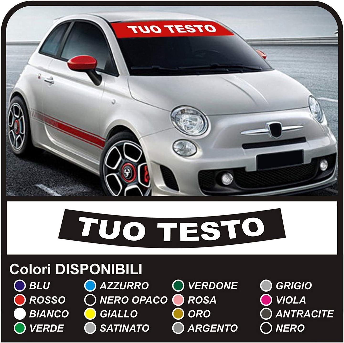 adesivi FASCIA PARASOLE stickers decals CONTATTACI ALTRO COLORE