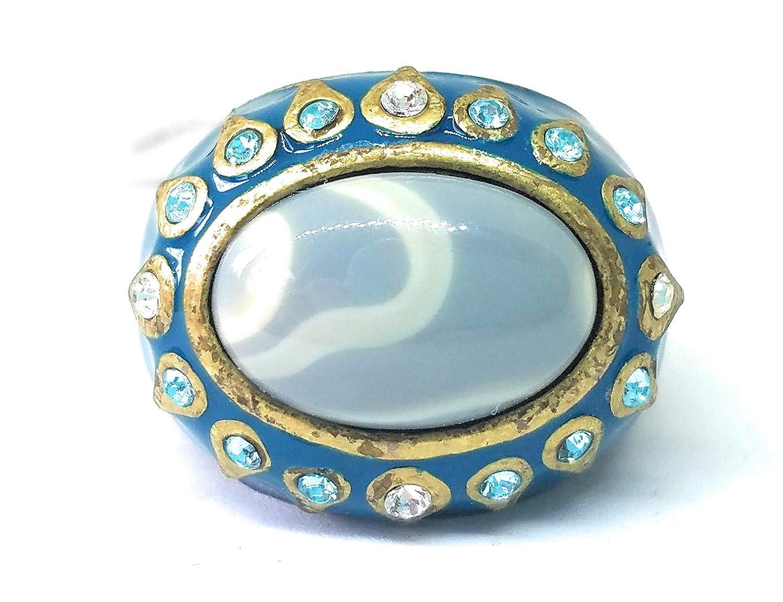 Lia Sophia Taj Mahal Ring Size 6