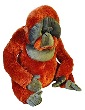 Wild Republic - Little Biggies Orangutan de Peluche, 53 cm (19327)