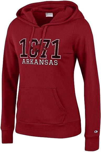 Champion NCAA womens NCAA Womens Comfy Fitted University Fleece Hoodie