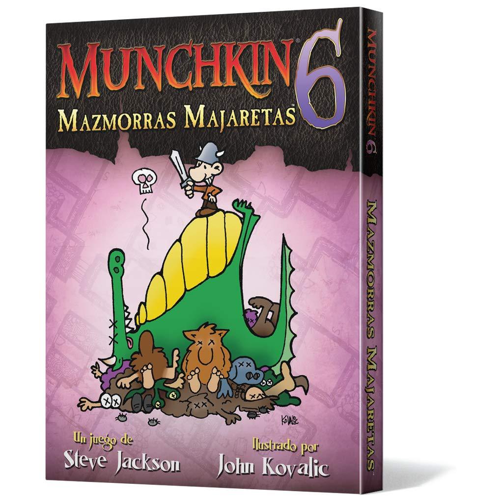 Edge Entertainment Munchkin 6: Mazmorras Majaretas (EESJMU06 ...