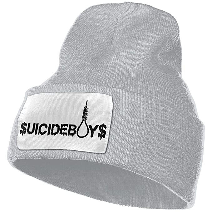 KJVK Uicideboy Custom Beanie Hat Unisex Adult Hats Winter Warm Knit Ski Skull Cap