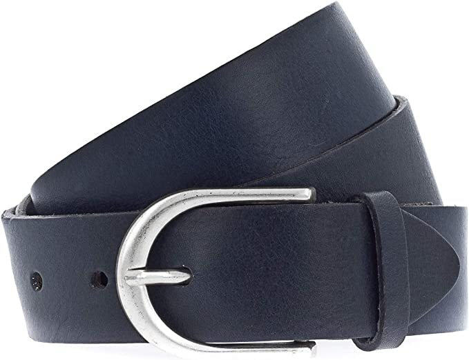 Vanzetti Damen Leder Gürtel Metallic Damengürtel 30 mm Leather Belt