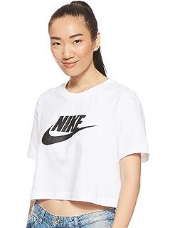 NIKE W NSW Hrtg Top SS Camiseta, Mujer, Dk Grey Heather/White/Black, XL: Amazon.es: Deportes y aire libre