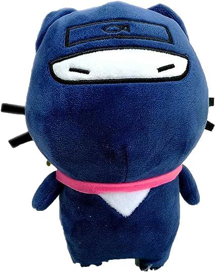 Amazon.com: Collocation-Online Cartoon Japanese ninja cat ...
