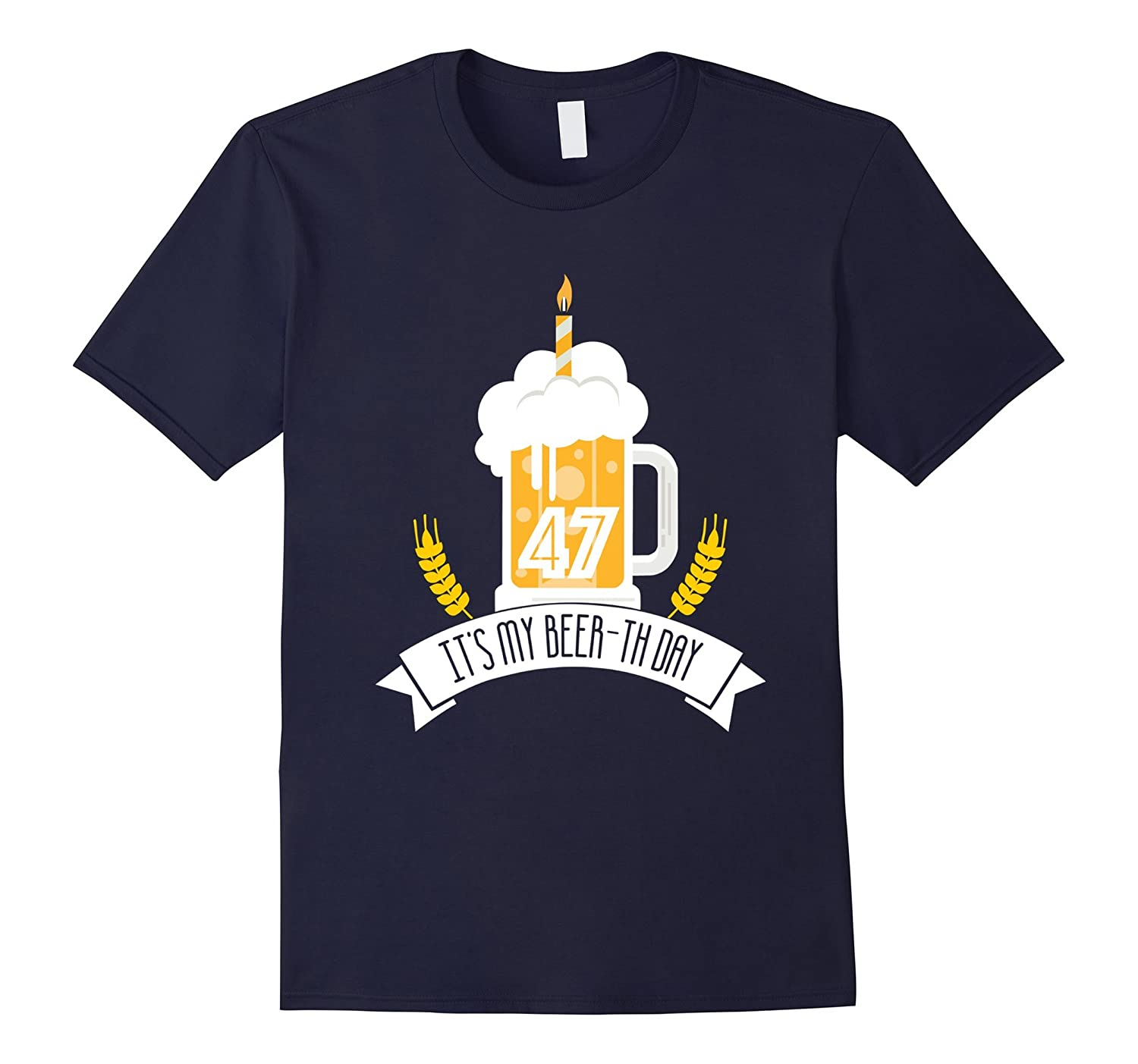 47th Birthday Its My Beer-th Day 1970 t-shirt-TH