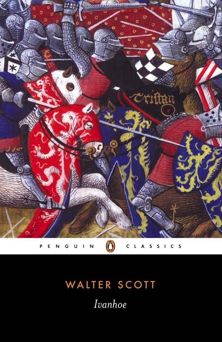 Image result for ivanhoe penguin cover