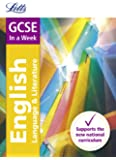 GCSE English In a Week (Letts GCSE 9-1 Revision Success)