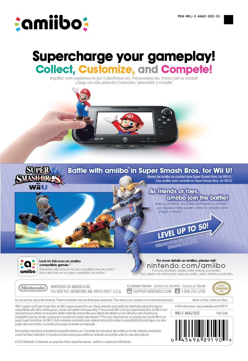 Sheik amiibo (Super Smash Bros Series) by Nintendo: Amazon.de: Games