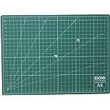 EXXO 10050 Schneidematte / Schneideunterlage A4, 300 x 220 mm, 5-lagig und selbstheilend, grün