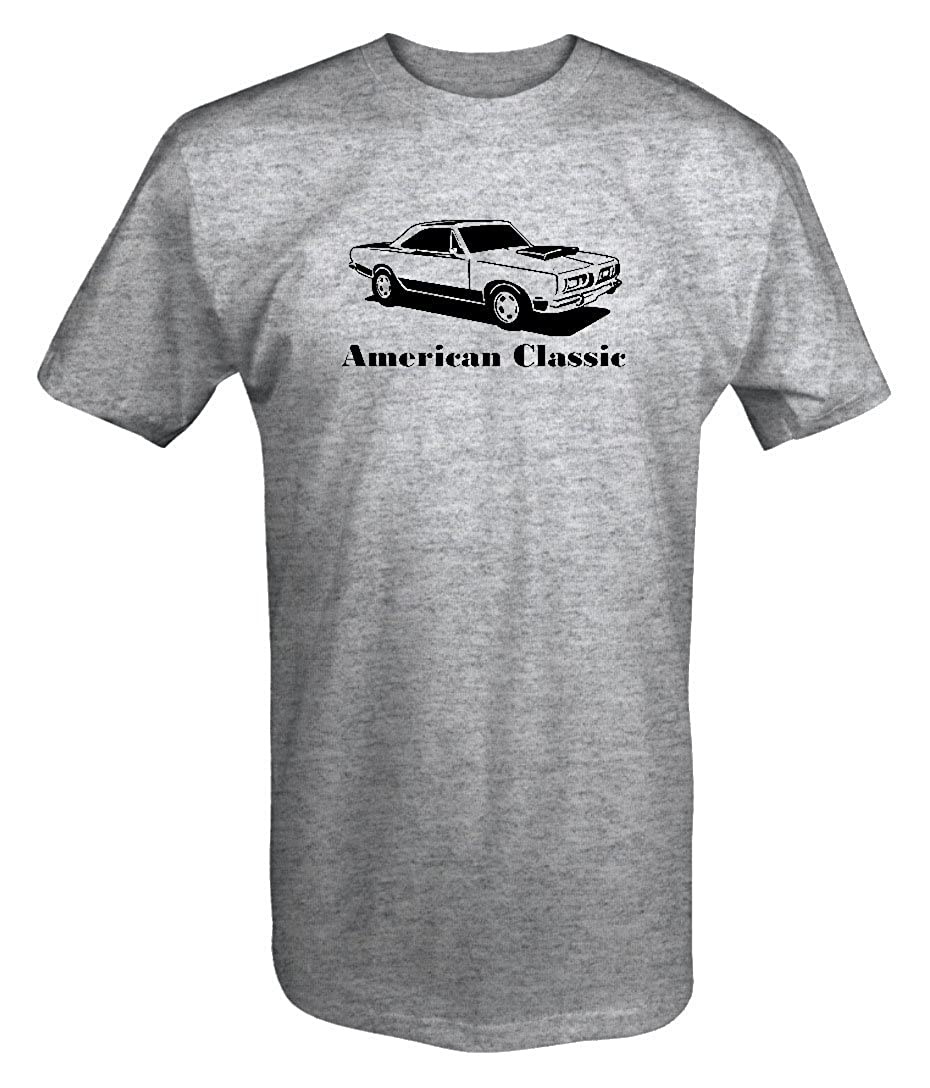 OS Gear American Classic Plymouth Mopar Barracuda Cuda Muscle Car T Shirt