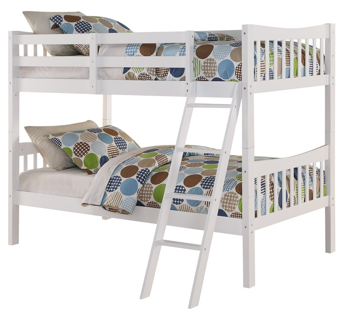 cheap white bunk beds
