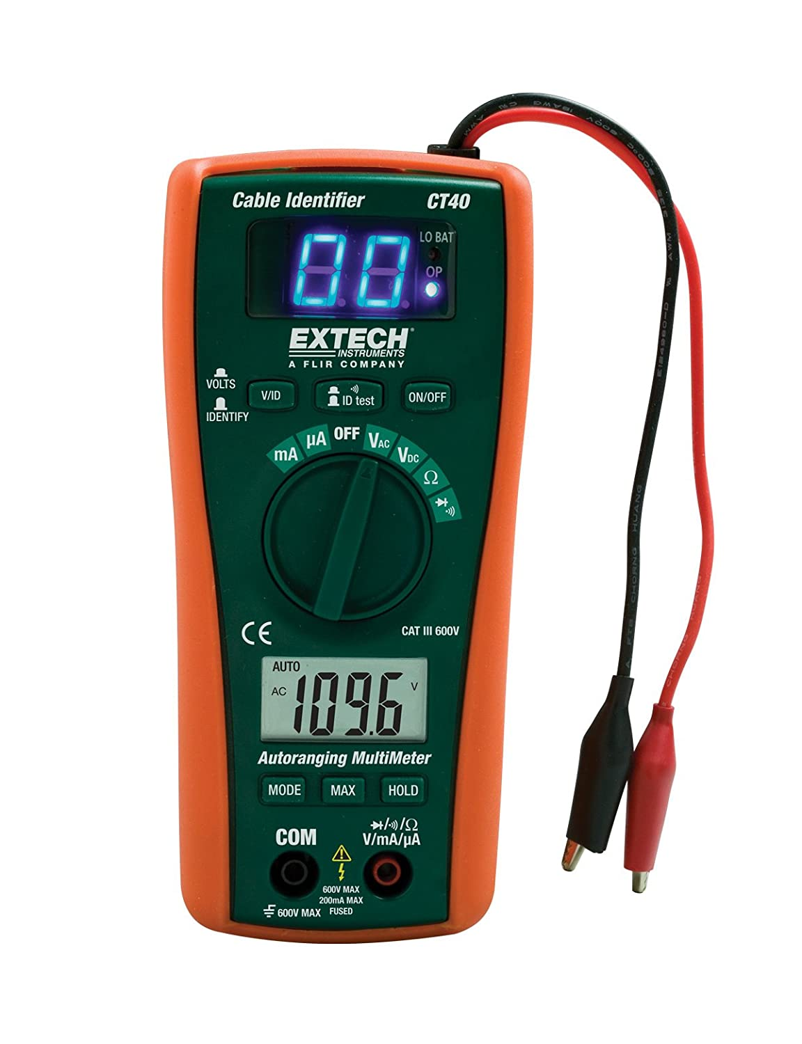 Extech Ct40 Cable Identifier Tester Kit Electrical Testers Klein 90 To 240v Ac Digital Circuit Breaker Finder Trade Me