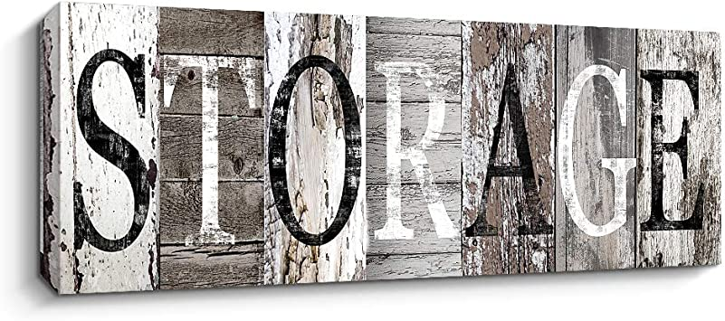 with Solid Wood Inner Frame Quotes Wall Art Decor Family Decorative Signs Inspirational Motto Canvas Prints 14x42 cm, Believe