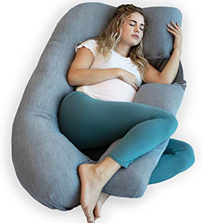 Amazon.com: PharMeDoc - Almohada de embarazo, en forma de U ...