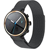 Amazon.com : Zenwatch 3 Band, Feskio Accessory Soft Silicone ...