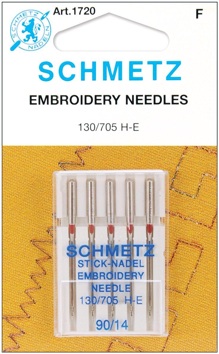 Schmetz Embroidery Needles Assorted Sizes