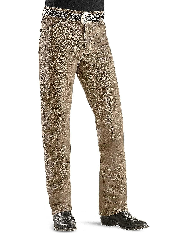 0572e9b7 Wrangler Men's 13Mwz Cowboy Cut Original Fit Jeans Prewashed Colors Trail  Dust 34W x 30L at Amazon Men's Clothing store: