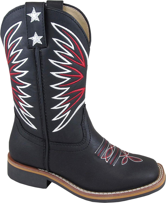 Smoky Mountain Boys\' Falcon Western Boot Square Toe