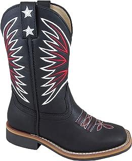 Smoky Mountain Boys' Falcon Western Boot Square Toe
