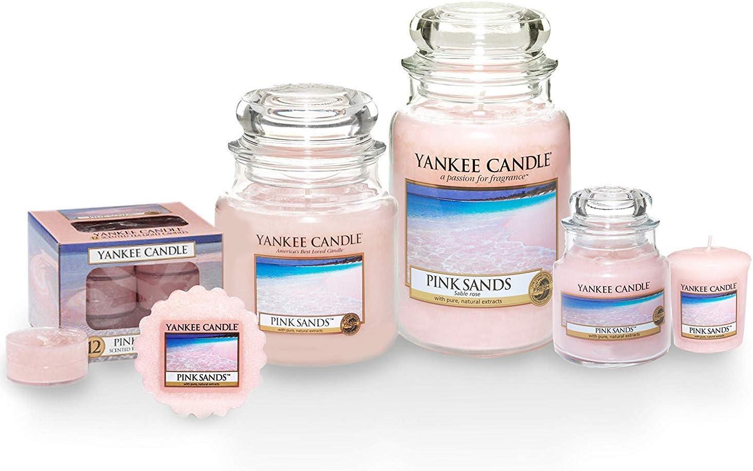 Yankee Candle lumignons parfum/és lot de/12 Sable rose