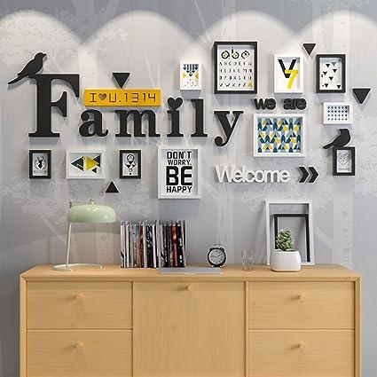 Amazoncom Photo Frame Wall 11 Boxes We Are Family Portfolio Black