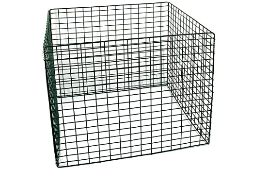 maciza metal compostador 90 x 90 x 70 cm, verde, 567 L ...