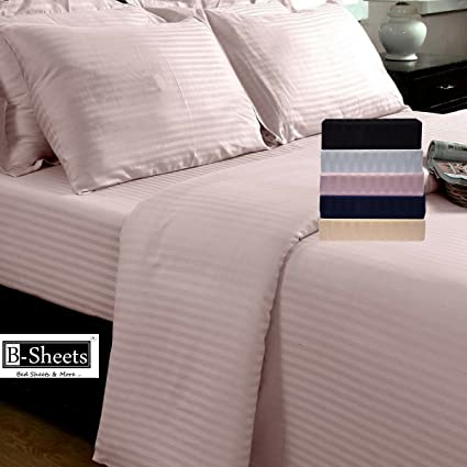 B Sheets   Ultra Luxury Range   Double Queen Size Fitted Bed Sheet (With