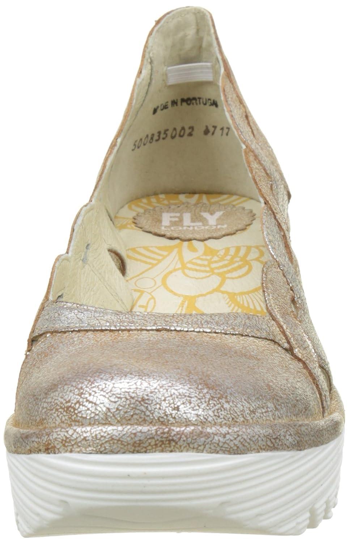 FLY London Damen EU Yelk835fly Pumps Elfenbein (Pearl Weiß Sole) 38 EU Damen 406b6e