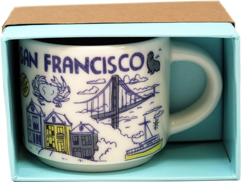 Starbucks Been There Series San Fransisco Ceramic Demitasse Ornament Mug 2 Oz Home Kitchen