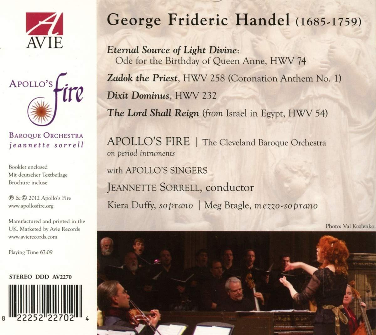 Georg Friedrich Händel : Dixit Dominus - Ode for the Birthday of Queen Anne - Zadok the Priest: Georg Friedrich Haendel , Matthew Bassett : Amazon.es: Música